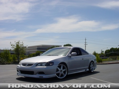 Full Throttle Suspension >> HondaShowOff - 2001 Honda Accord Coupe V6 EX