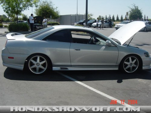 HondaShowOff 2001 Honda Accord Coupe V6 EX