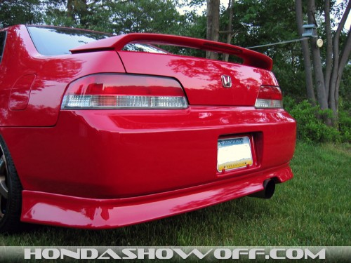 on 2000 Honda Prelude Type Sh