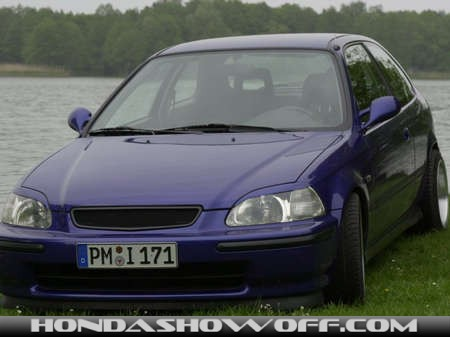 hondashowoff 1999 honda civic ej9 hatchback. Black Bedroom Furniture Sets. Home Design Ideas