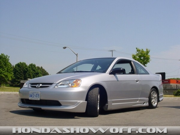Hondashowoff 2003 Honda Civic Lx Coupe