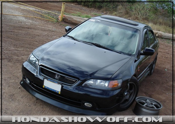 Hondashowoff 2001 Honda Accord Ex Sedan
