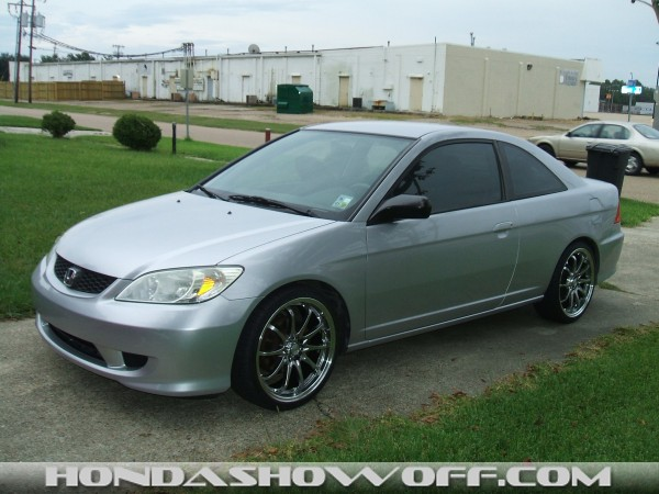 Carbon Fiber Wheels >> HondaShowOff - 2004 Honda Civic