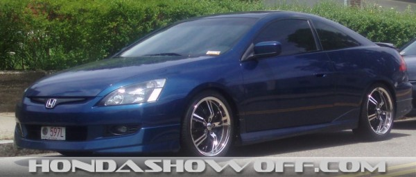 Hondashowoff 2004 Honda Accord Coupe V6 6mt